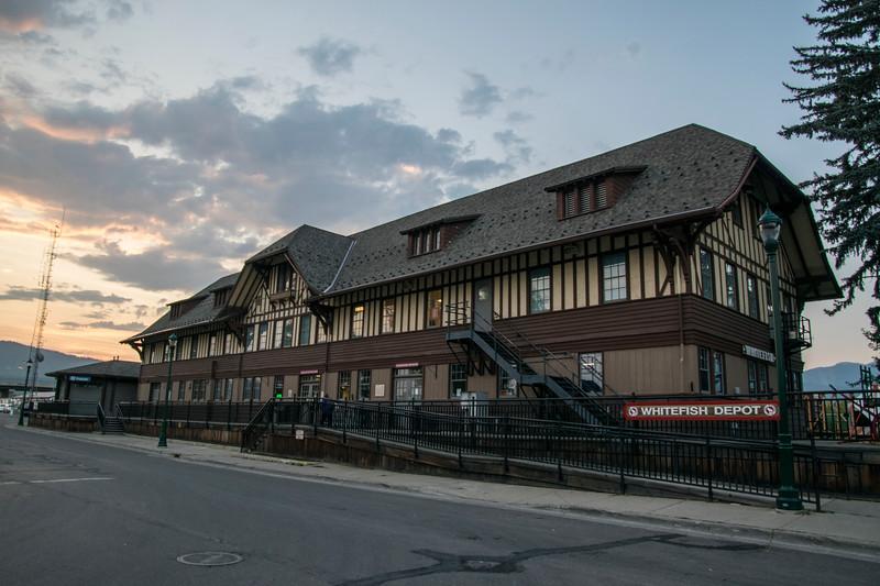 Whitefish MT depot 8/23/17