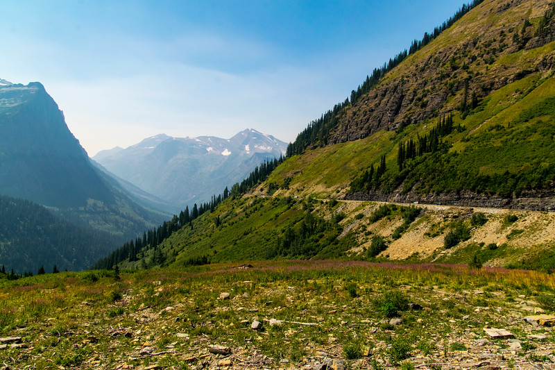 Going to the Sun road, Glacier NP