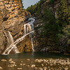 Cameron Falls, Waterton Lakes NP, Alberta Canada 8/23/17