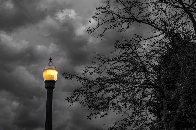 Eerie evening in Durango