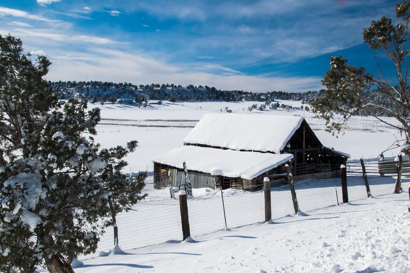 La Plata County barn