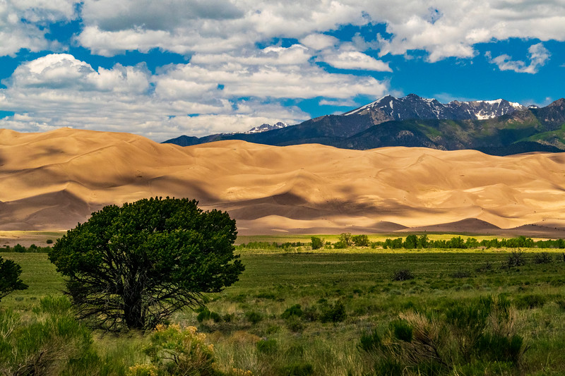 Great Sand Dunes NP view