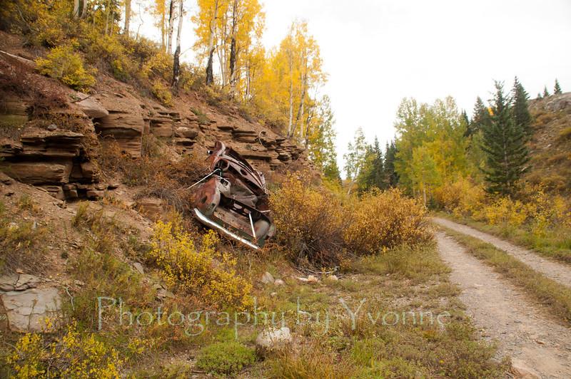 Old Highway 550 between Silverton and Durango