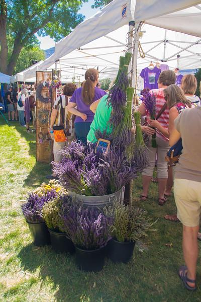 Grand Junction Lavendar festival
