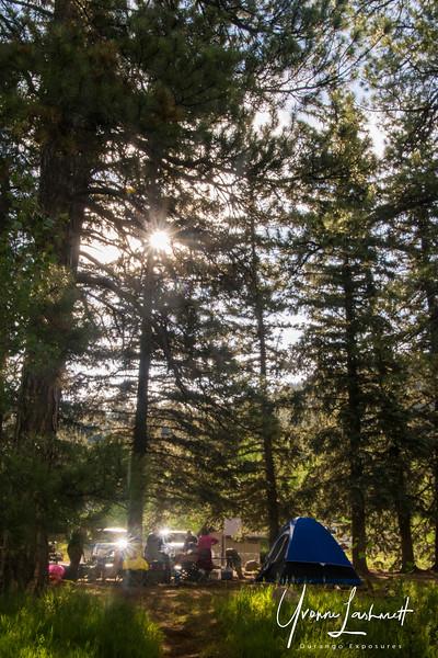 Campsite at Lemon Lake, CO