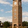 Fort Lewis College clock tower. Durango CO