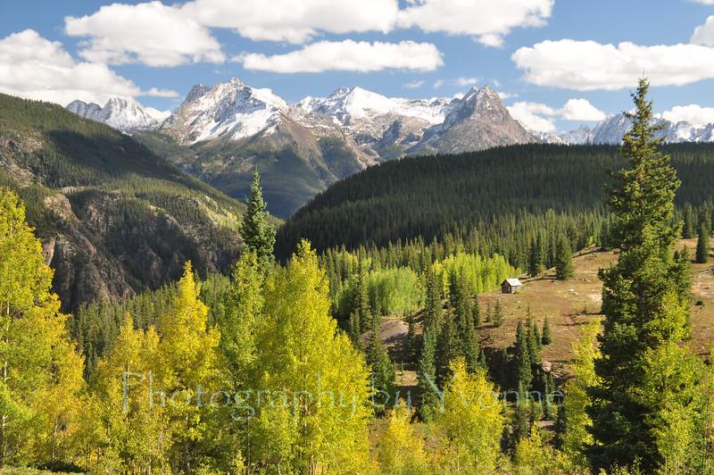 October colors on Molas Pass between Silverton and Durango CO.