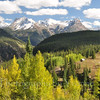 October colors on Molas Pass between Silverton and Durango CO.