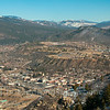 Overview of town of Durango CO