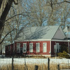 Old schoolhouse in hamlet of Beulah, CO