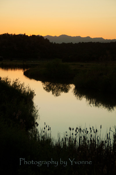 La Plata County sunset.
