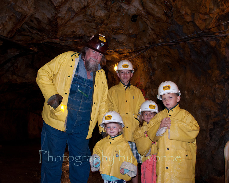 """Our guide """"Joe"""" at the Old Hundred Mine showed us what conditions were like inside the mines. Was a great experience!"""