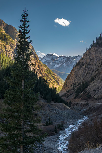 Between Silverton and Animas Forks CO
