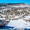 Winter blanket on Durango