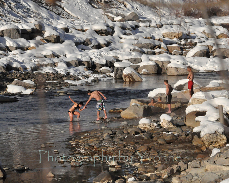 From Hot to Cold, Pagosa Hot Springs and San Juan River