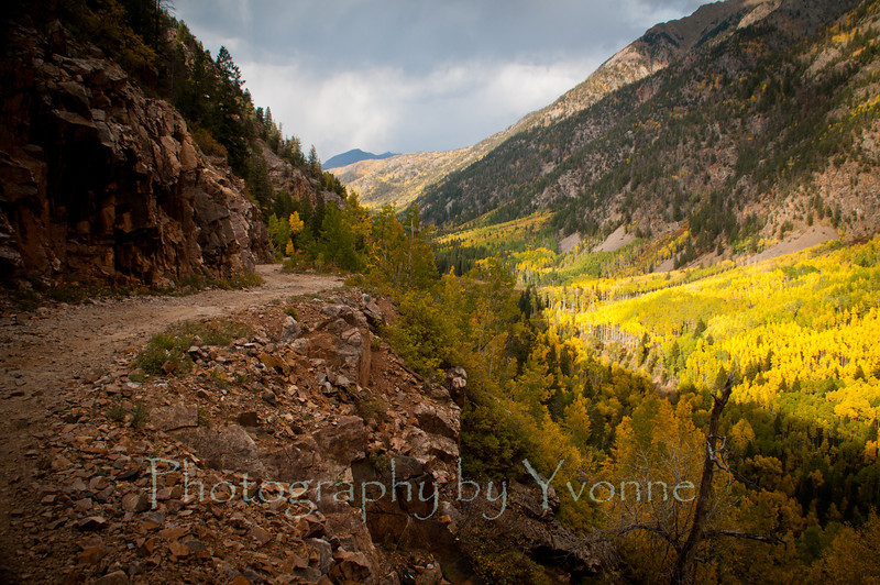 Old Lime Creek Road. 9/23/12