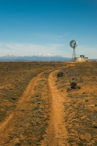 Utah Desert Windmill