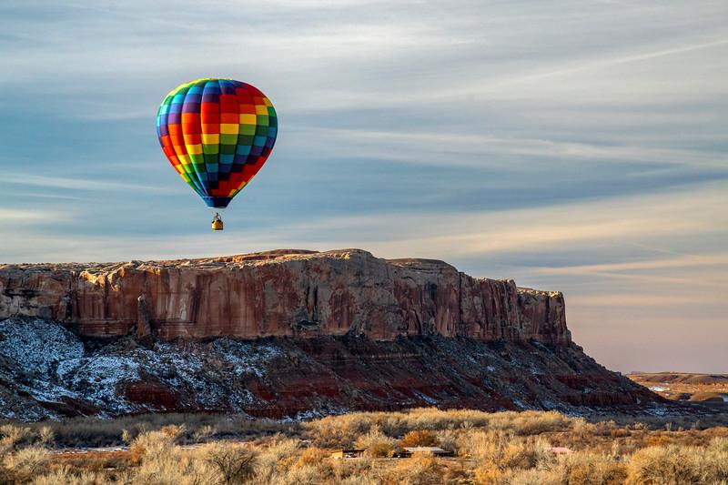 21st Annual Bluff International Balloon Festival, January 2019