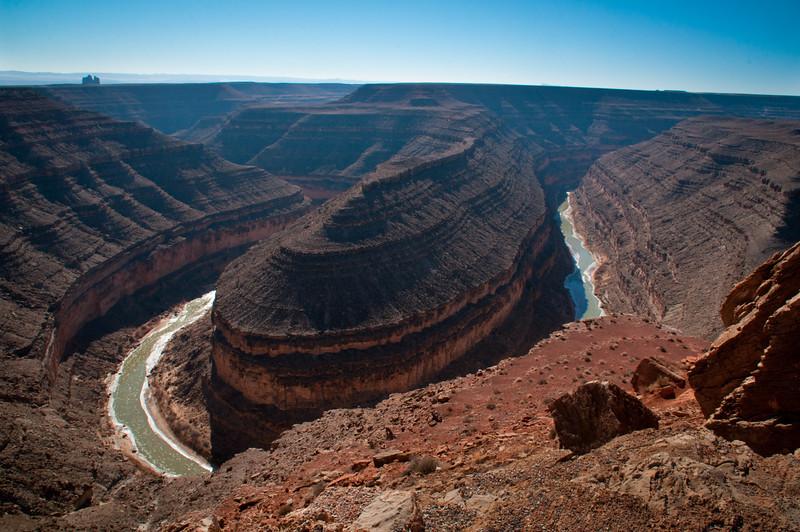 Goosenecks of the San Juan River. Goosenecks State Park, Utah
