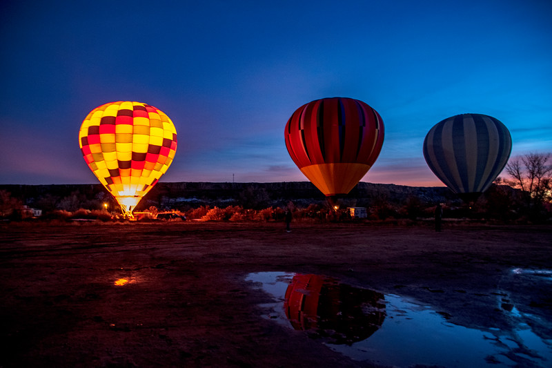 21st Annual Bluff International Balloon Festival, January 2019