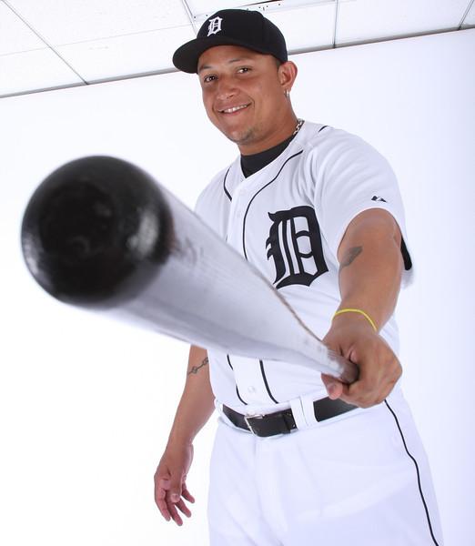 2012 MLBPA - The Players Choice Photo Shoot - Detroit Tigers