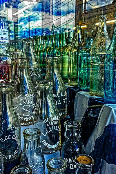 One Quart Liquad, Bottles