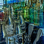 One Quart Liquad, Bottles