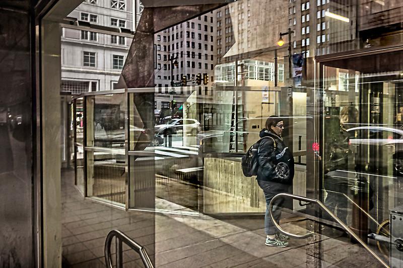 13th Street SEPTA Station Elevator