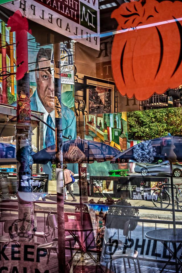 Rizzo Peeks, Pillars, Street Seating
