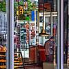 Through the City Diner Windows