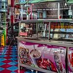 Reddish Purple & Blue Floor, Paleteria Store,