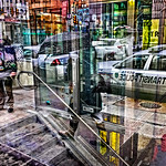 Transit Police Car, Subway Entrance, Cheesesteaks