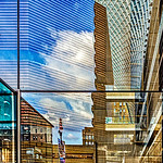 Kimmel Center Glass Reflection