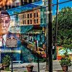 Rizzo Mural, Signage, Foliage