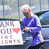 KRISTOPHER RADDER — BRATTLEBORO REFORMER<br /> Family members got to see their loved ones during a parade organized by Pine Heights at Brattleboro Center for Nursing and Rehabilitation, in Brattleboro, on Thursday, May 14, 2020.