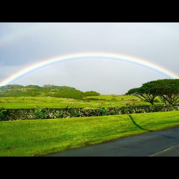 Rainbow of Love in Hana