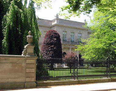 We wanted to tour the Elms Mansion but the public hours didn't fit our schedule.