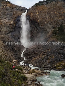 9.6.2019 Takakkawa Falls - Yoho National Park
