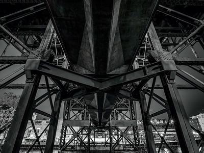 "4.2.2019 Under the ""bridge under the bridge"""