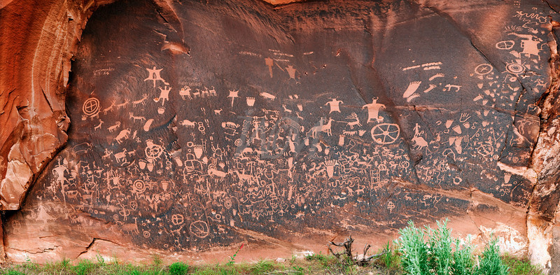 Newspaper Rock 4-17-10