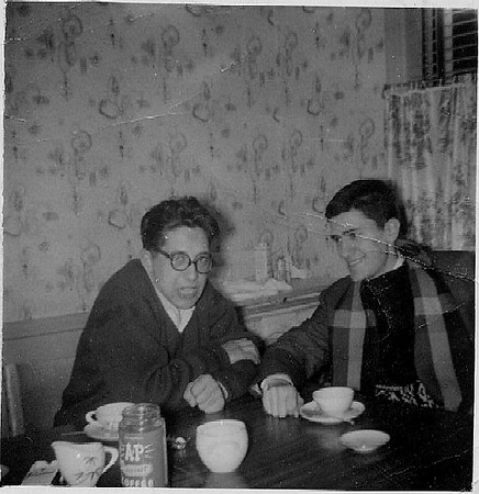 Joe, Gino in Peekskill - 1950s