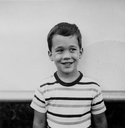 Mike passport foto, 1963