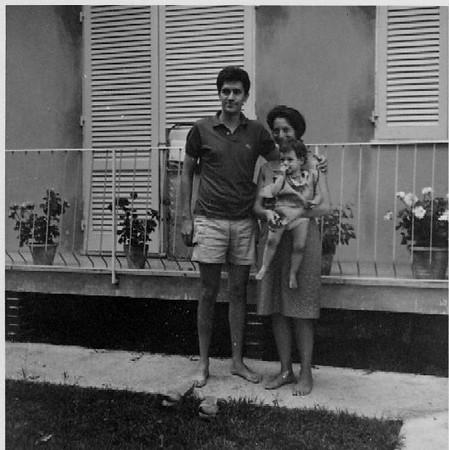 Gino Nina Katia in Forte dei Marmi #2 - 1965