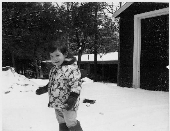 Kat in Acton - Winter 1970-71