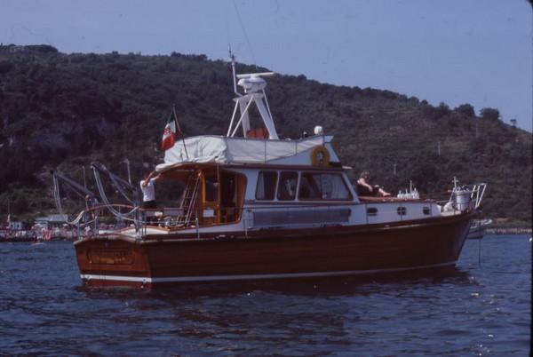 Sergio's 1st boat, 1980