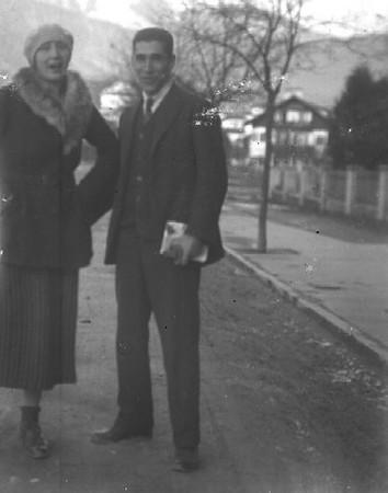 Angelo e Katia early 1920s, b