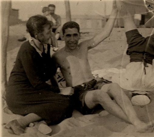 Angelo e Katia early 1920s, e