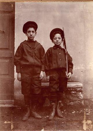 Angelo e Marco, circa 1900