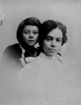 Elsie and her mother