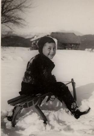 Joe, Alpe di Siusi, Feb  1938
